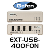 Gefen 4 Port USB 2.0 Hub Extender Over Fiber Optics Cable (Up to 500m)