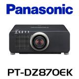 Panasonic PT-DZ870EK WUXGA 8500 Lumens Dual Lamp 1-Chip DLP Projector