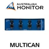 Australian Monitor MULTICAN 4 Channel Headphone Amplifier