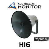 "Australian Monitor H16 16"" High Output Round Horn Speaker (35 / 60W)"