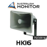 "Australian Monitor HK16 16"" High Output Rectangular Horn Speaker (35 / 60W)"