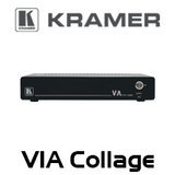 Kramer VIA Collage 6-Simultaneous 4K Wireless Presentation Collaboration Hub