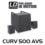 LD Systems Curv 500 AVS Portable Array System with Mixer & Bluetooth