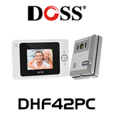"Doss DHF42PC 4"" Hands Free Audio Video Intercom Kit"