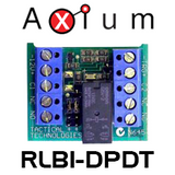 Axium RLB1-DPDT 12VDC Double Pole, Double Throw Buffered Relay