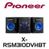 Pioneer X-RSM310DVHBT Todoroki DVD Mini System