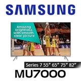 Samsung Series 7 MU7000 Premium 4K UHD HDR LED Smart TV
