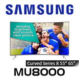 Samsung Series 8 MU8000 Curved Premium 4K UHD HDR LED Smart TV