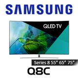Samsung Series 8 Q8 Curved UHD QHDR1500 QLED Smart TV