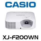 Casio XJ-F200WN 3000 Lumens WXGA Advanced LED Projector