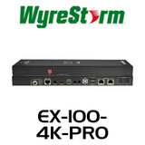 WyreStorm 4K HDBT2 Extender Set with USB, Audio & Dual Ethernet (Up to 100m)