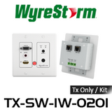 WyreStorm HDMI/VGA Over HDBaseT Auto-Switching In-Wall Extender Set (70m)