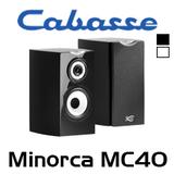 "Cabasse Minorca MC40 7"" 3-Way Bookshelf Speakers (Pair)"
