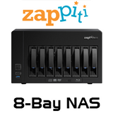 Zappiti 8-Bay NAS 8S Enclosure With RIP Function