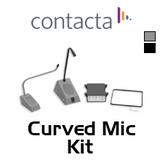 Curved Microphone Speech System