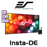 "Elite Screens Insta-DE Dry-Erase Soft Pad WhiteBoard Projection Screens (63-129"")"