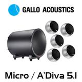 Gallo Acoustics Micro / A'Diva 5.1 Home Theatre System
