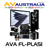 AVA FL-PLA-51 Platinum Floor Standing Home Theatre Package