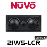 "NuVo 2IW5-LCR Series Two 5.25"" In-Wall LCR Speaker (Each)"