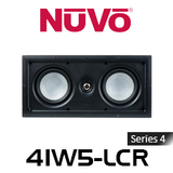 "NuVo 4IW5-LCR Series Four 5.25"" In-Wall LCR Speaker (Each)"