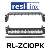 Resi-Linx RL-ZC10PK Rack Shelf Kit For HD-1600 Series Modulators