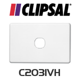 Clipsal C2000 Series Grid and cover wallplate