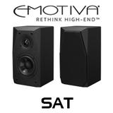 "Emotiva BasX SAT 4"" Satellite Loudspeaker (Pair)"