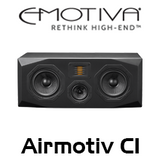 "Emotiva Airmotiv C1 Dual 5.25"" 3-Way Centre Channel Loudspeakers"