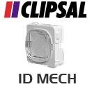 Clipsal ID Mech Plug - White