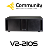 "Community Veris V2-210S Dual 10"" Subwoofer"
