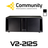 "Community Veris V2-212S Dual 12"" Subwoofer"