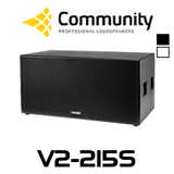 "Community Veris V2-215S Dual 15"" Subwoofer"