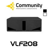 "Community VLF208 Dual 8"" Compact Subwoofer"