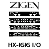 Zigen I/O Card For HX-1616 HDBaseT Modular Matrix Switch