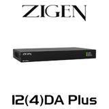 Zigen 1 to 2/4 Outputs HDMI 2.0 Distribution Amplifier