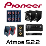 Pioneer VSX-LX302 Basic Atmos 5.2.2 In-Wall Kit