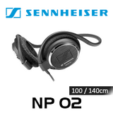 Sennheiser NP02 Lightweight On-Ear Headphones With Neckband (20 pcs)