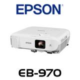 Epson EB-970 4000 Lumens XGA Corporate Portable Multimedia LCD Projector
