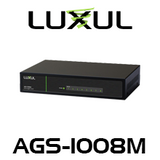 Luxul AV AGS-1008M 8-Port Gigabit Switch With Magnetic Mounting