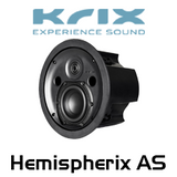 "Krix Hemispherix AS 4"" In-Ceiling Speaker (Each)"