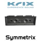 """Krix Symmetrix Dual 4"""" In-Wall Speaker (Each)"""
