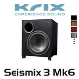 "Krix Seismix 3 Mk6 11"" 300W Active Subwoofer"