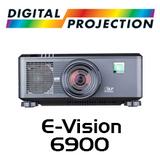 Digital Projection E-Vision 6900 WUXGA 3D HDBaseT Dual Lamp DLP Projector