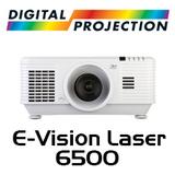 Digital Projection E-Vision Laser 6500 WUXGA 3D HDBaseT 1-Chip DLP Projector