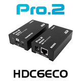 Pro2 HDC6ECO HDMI Over Single Cat6 Extender (50m)