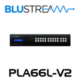 BluStream PLA66L-V2 6x6 4K UHD HDBaseT Matrix (up to 40m)