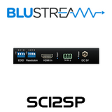 BluStream SC12SP 1:2 HDMI 4K Splitter with Audio Breakout & Down-Scaler