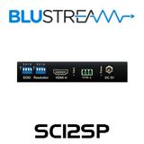 BluStream SC12SP 1:2 HDMI 4K Splitter with Audio Breakout & Down-Scaler