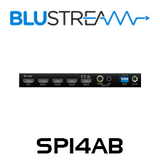 BluStream SP14AB 1:4 HDMI 4K Splitter with Audio Breakout
