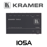 Kramer 105A 1:5 Stereo Audio Distribution Amplifier